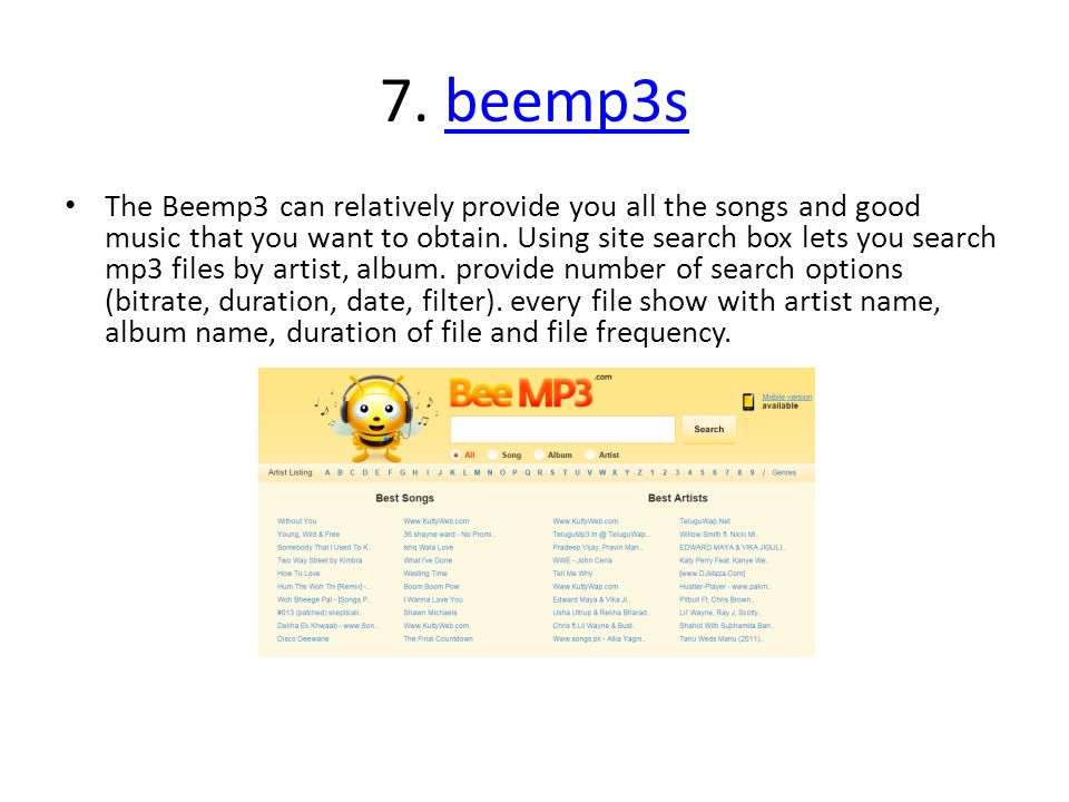 Top 20 legal and free music download websites  I'm a big fan of