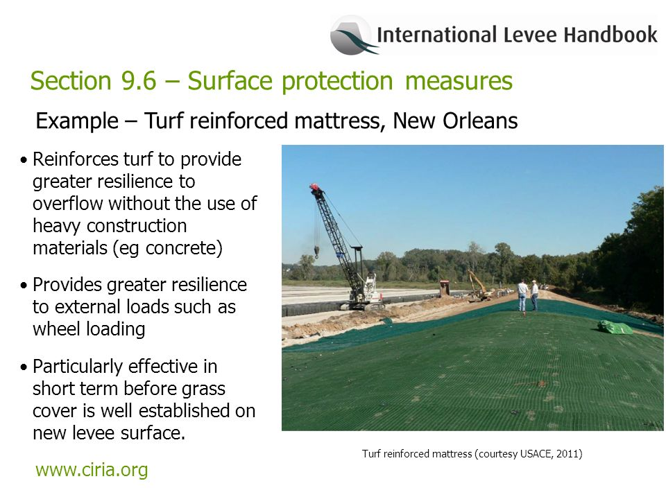 international levee handbook overview of the handbook chapter 9 rh slideplayer com Types of Levees Types of Levees