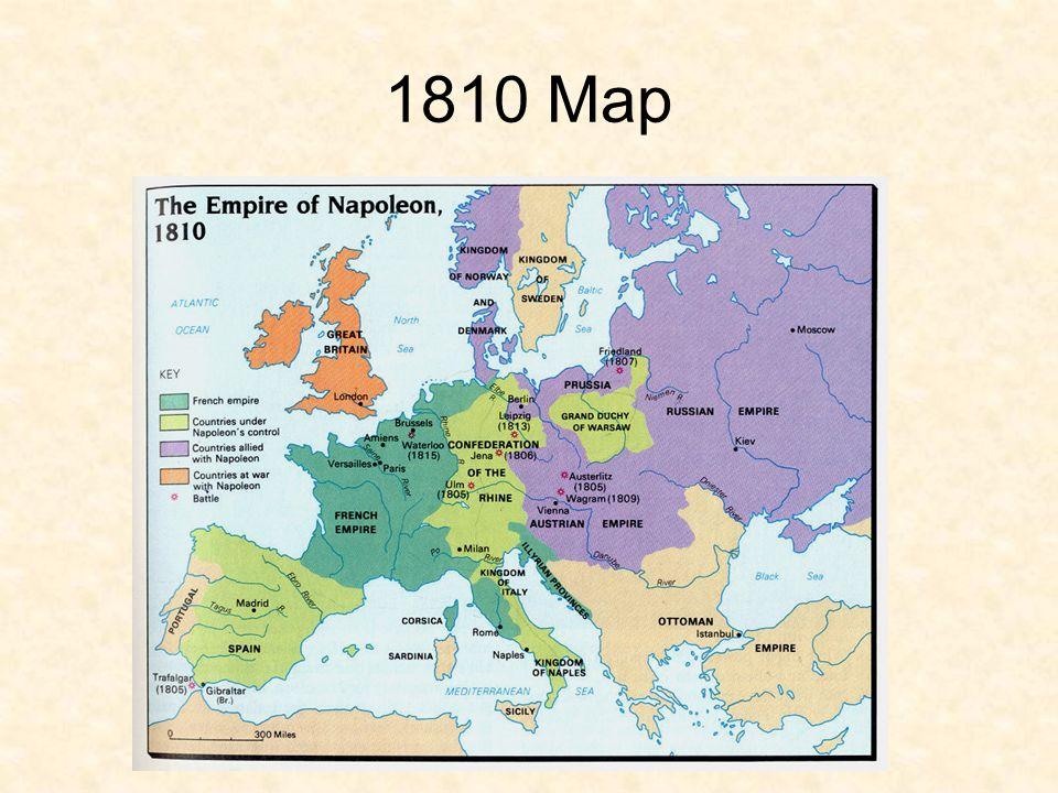 European Nationalism Europe 1810 Map Ppt Download