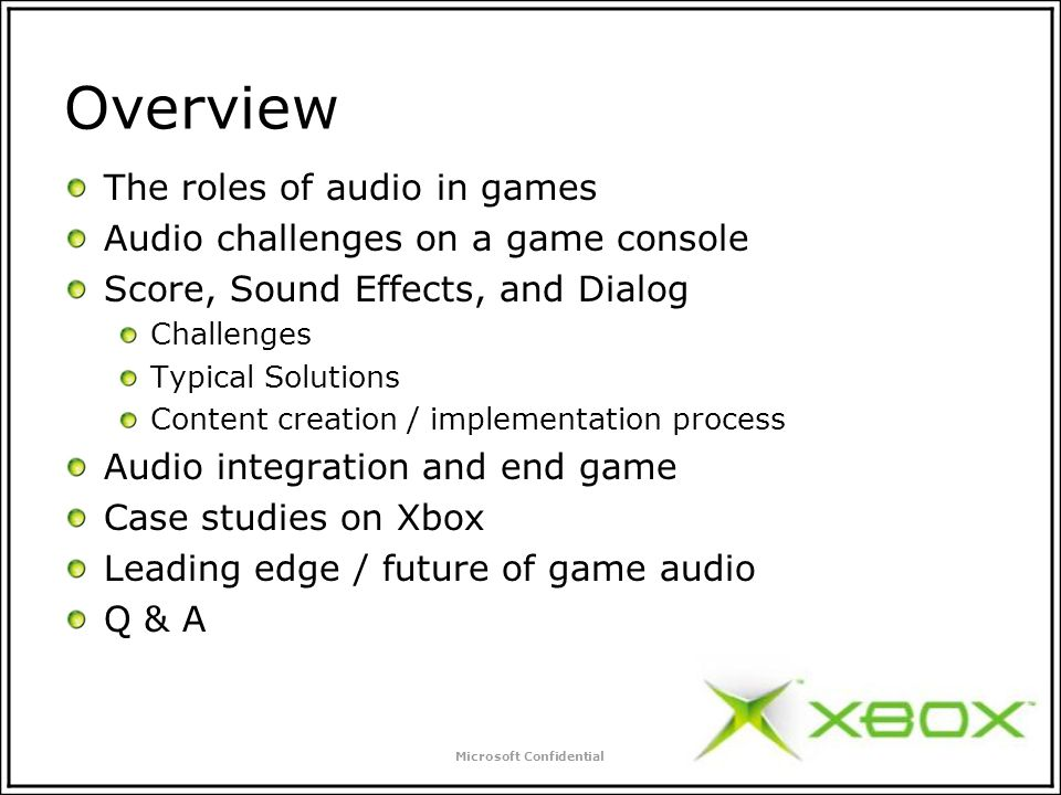 Xboxs Advanced Technology Group – Doe Software