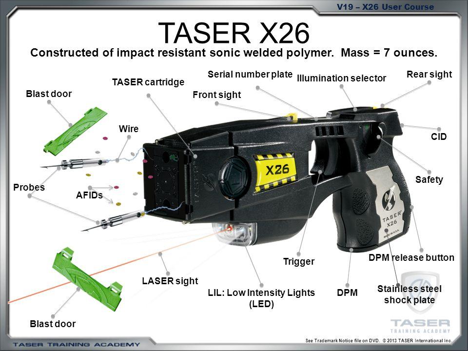 X Taser Schematic Diagram on