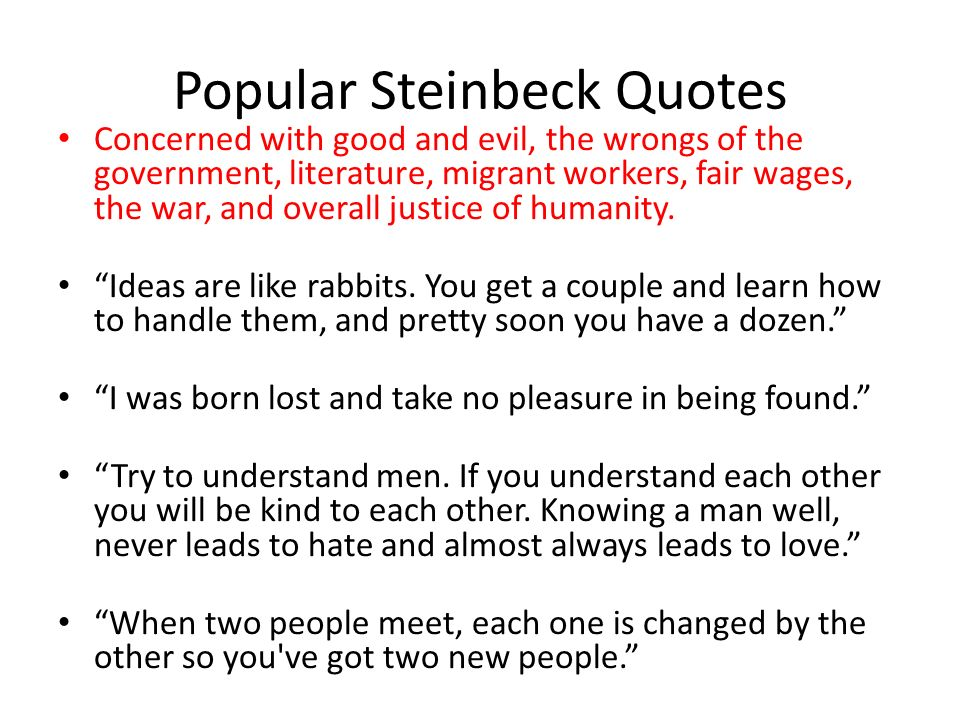 """896830085cc9 John Steinbeck and """"Of Mice and Men"""" One of the greatest American ..."""