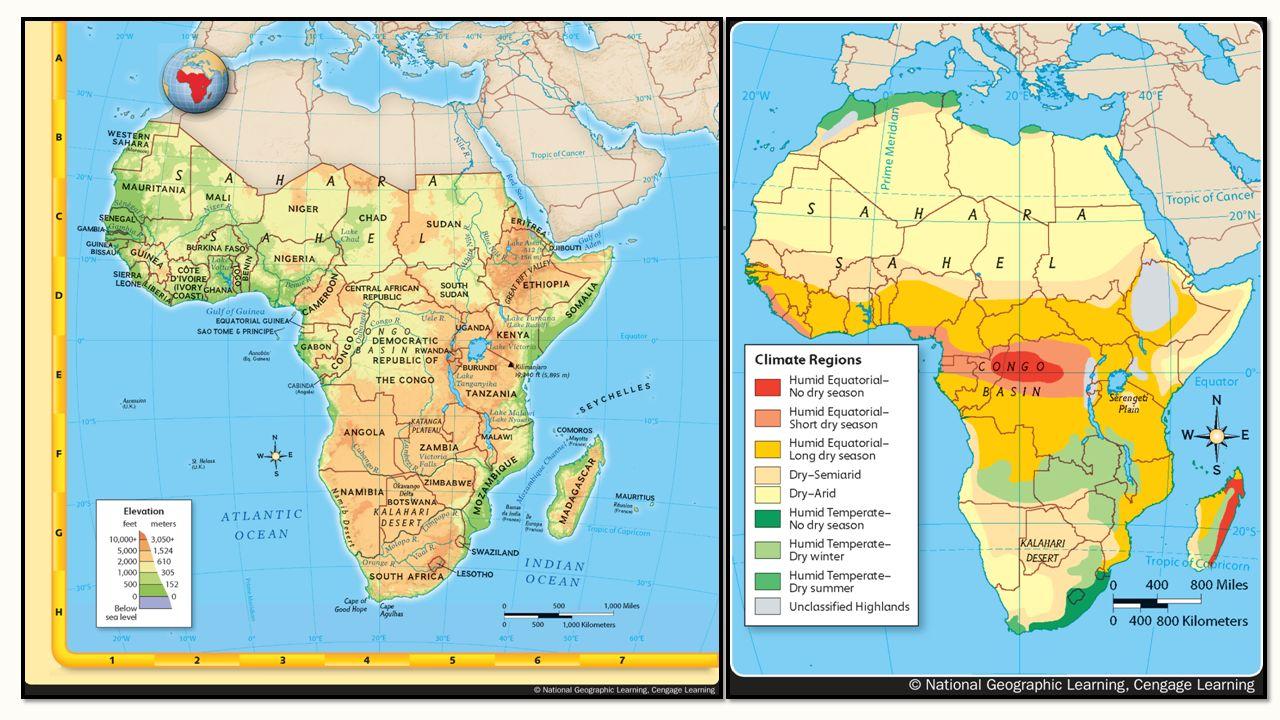 Sub-Sahara Africa Notes Chapter 13. Sub-Sahara Africa ...