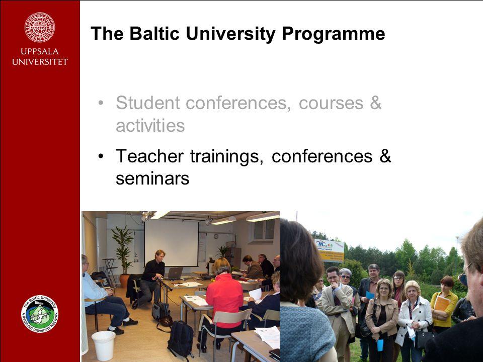 1 The Baltic University Programme Director Christine