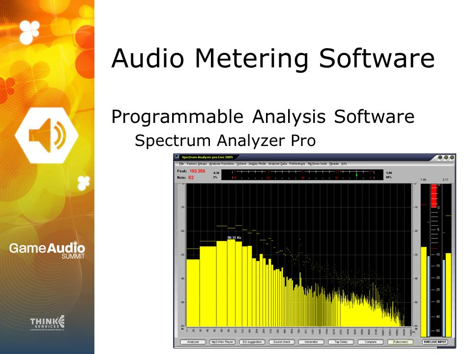 Audio Metering for Game Developers  Jason Cobb Game Audio