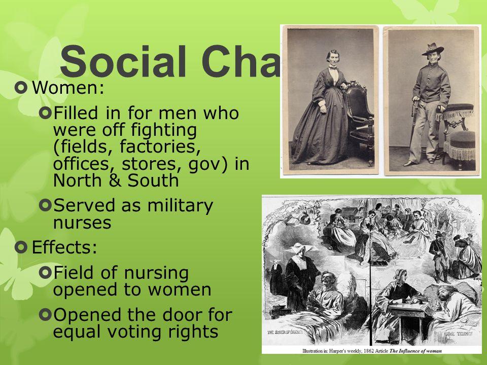 effects of social change in nursing