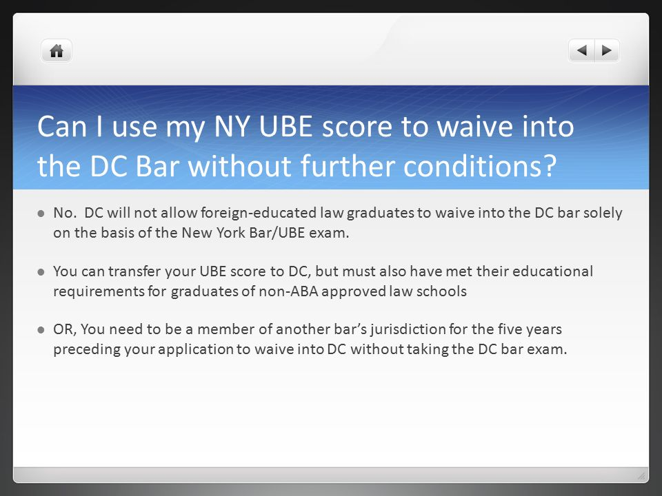New York Bar Exam Application Process Where to go with