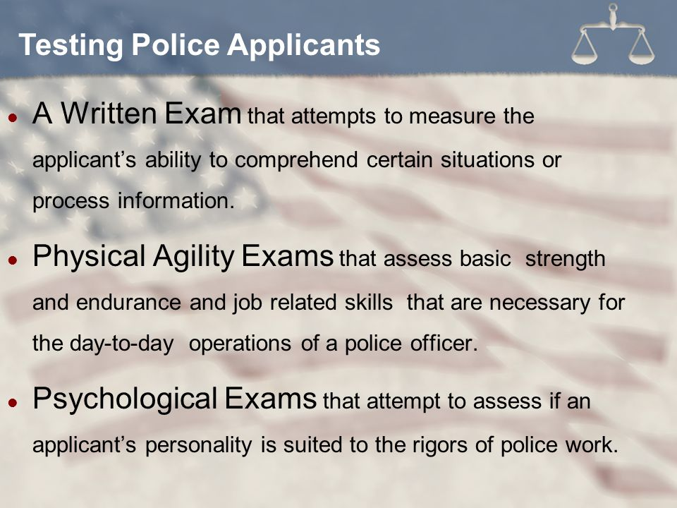 Challenges to Effective Policing Chapter 6  Be a U S  Citizen Not