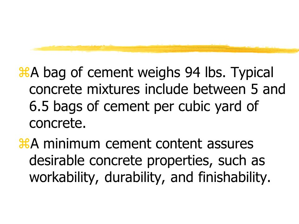 Beautiful How Many 60lb Bags Of Concrete In A Yard Cement Calculator For