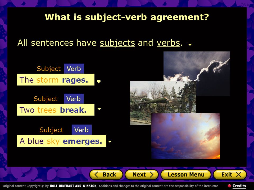 Using Subject Verb Agreement What Is Subject Verb Agreement Number