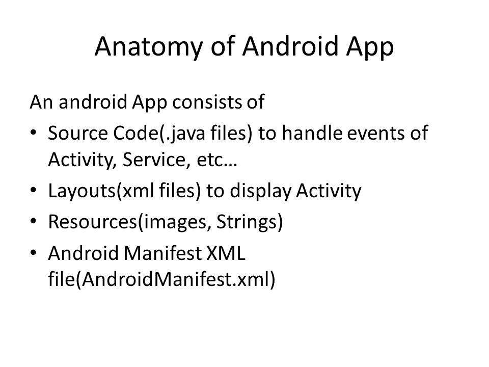 Android App Development. Android Architecture Linux kernel Libraries ...