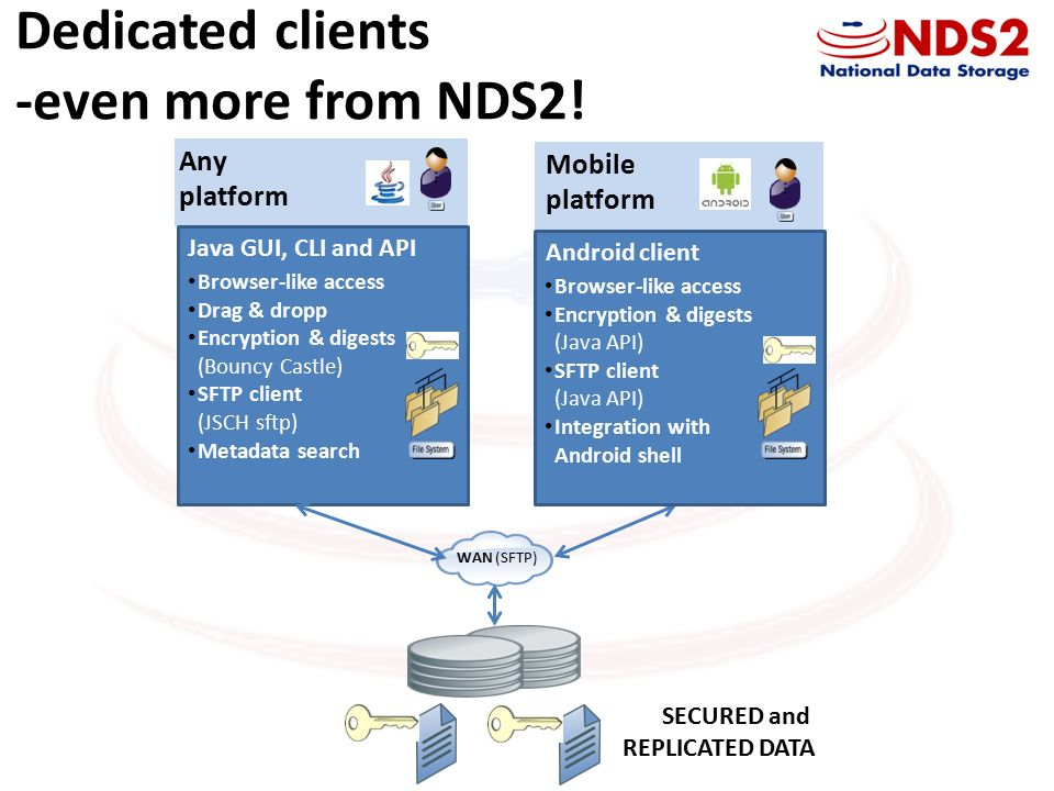 National Data Store 2 Secure Storage Cloud with efficient and easy