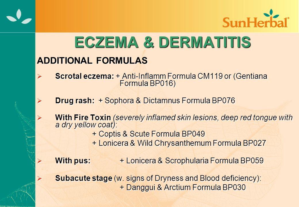 SUN HERBAL PROFESSIONAL SEMINAR NOTES The Treatment of Stubborn Skin