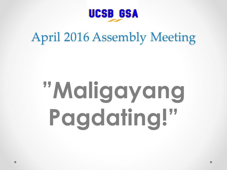 Maligayang pagdating means