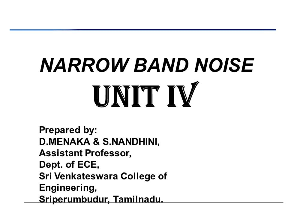 NARROW BAND NOISE EBOOK DOWNLOAD