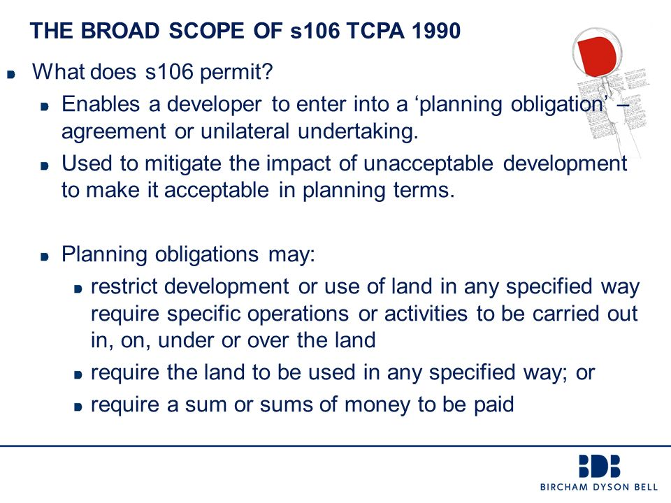 Planning Advisory Service Seminar January 2015 Section 106 Issues