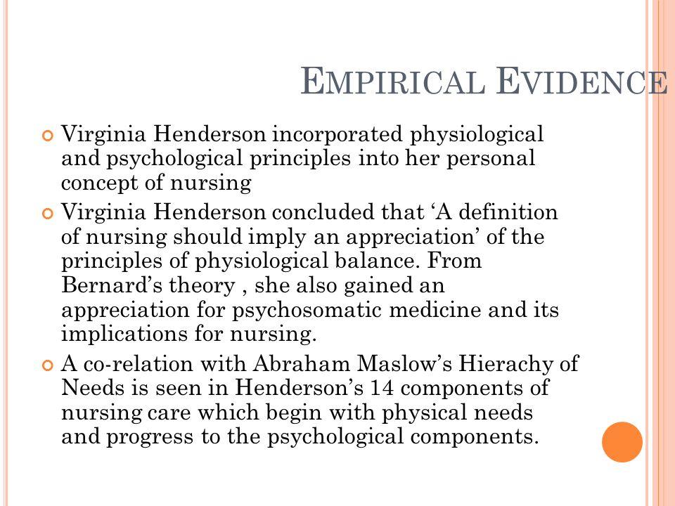 personal concept of nursing