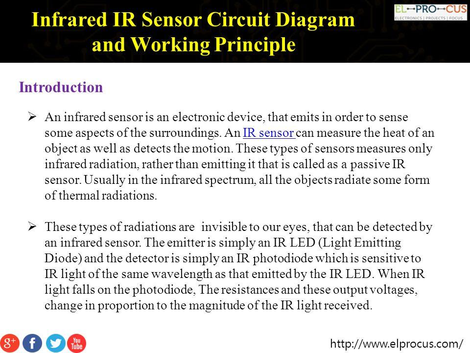 infrared ir sensor circuit diagram and working principle ppt download rh slideplayer com IR LED Circuit Ir Switch Circuit