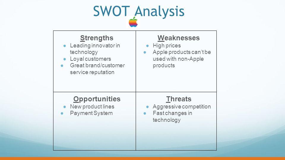 apple strengths weaknesses opportunities threats