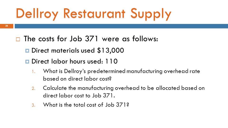 JOB COSTING: DISTINGUISH BETWEEN JOB COSTING & PROCESS