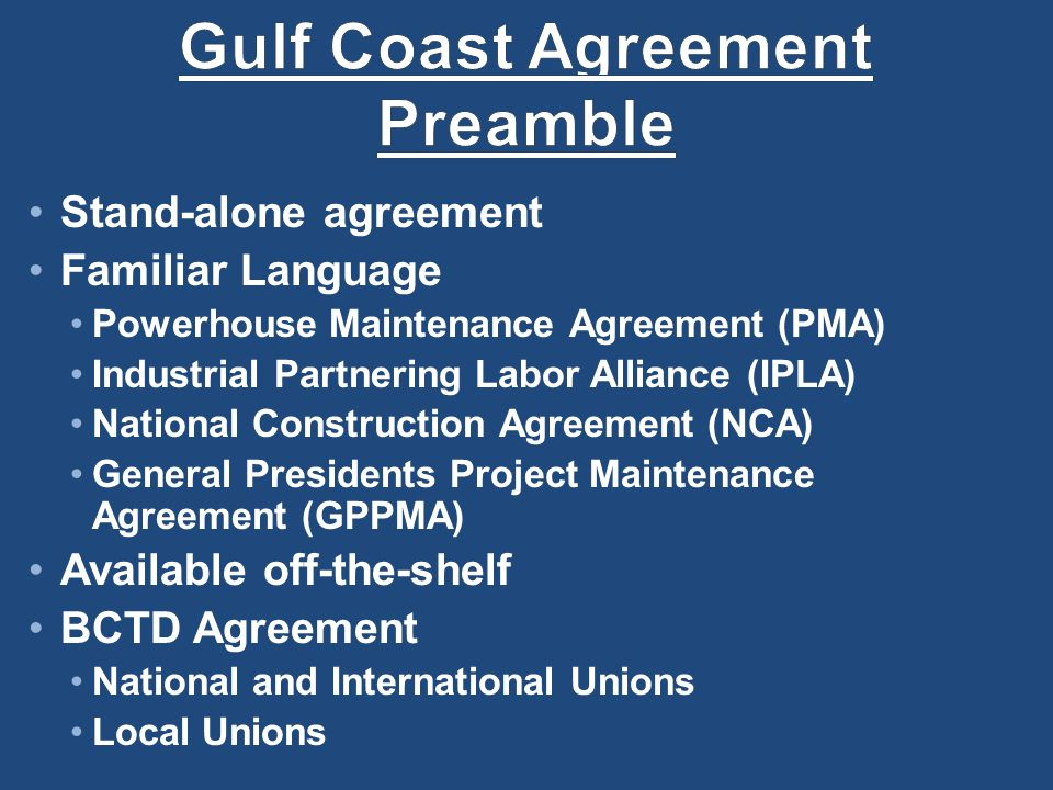 Gulf Coast Leadership Meeting August 19 21 Ppt Download