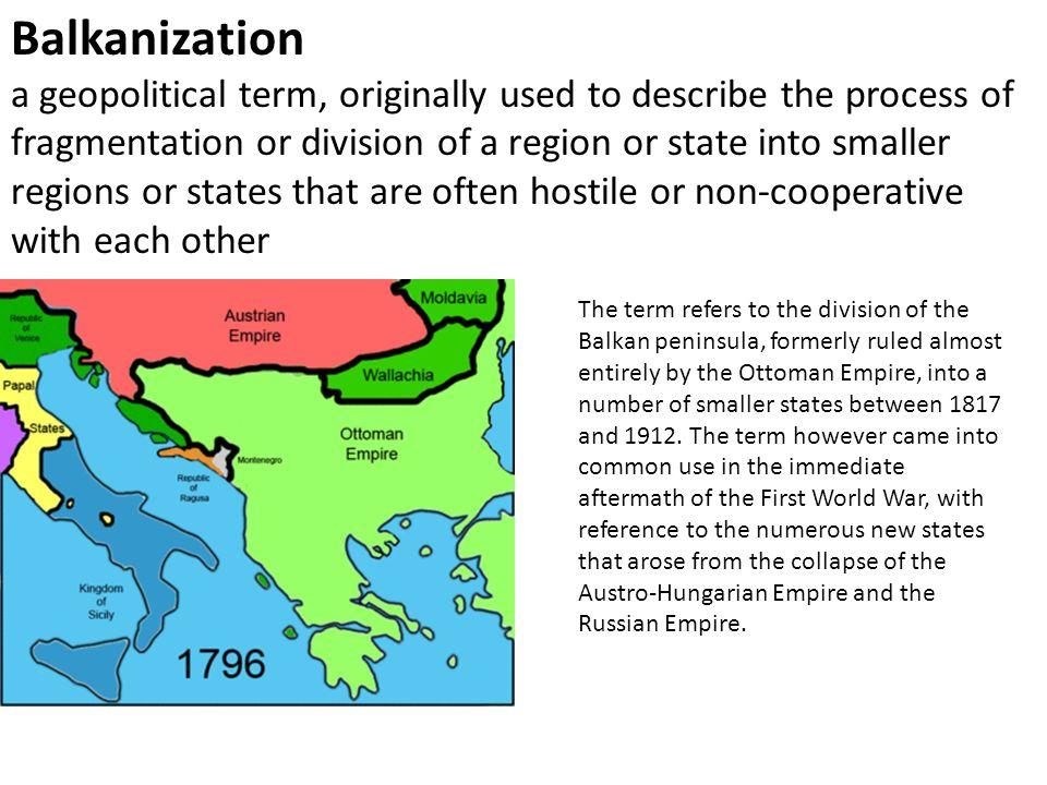 Define Balkanization
