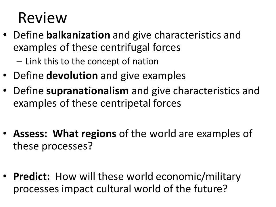 devolution examples