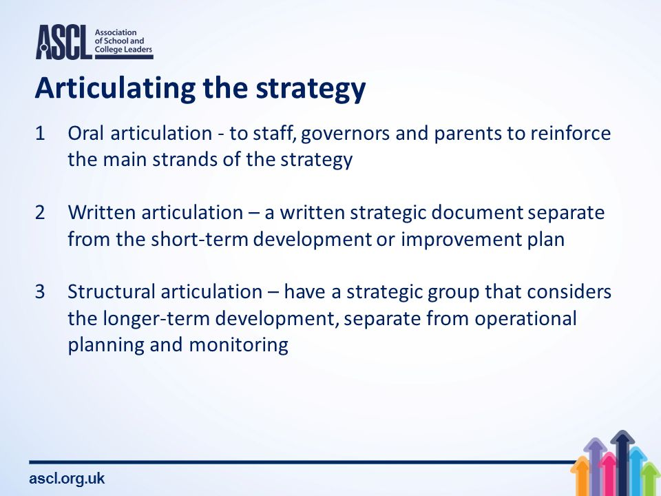Ascl leadership of strategic improvement planning and self 11 maxwellsz