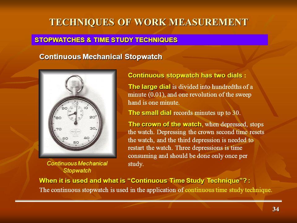 WORK STUDY WORK MEASUREMENT PART II TECHNIQUES  - ppt download
