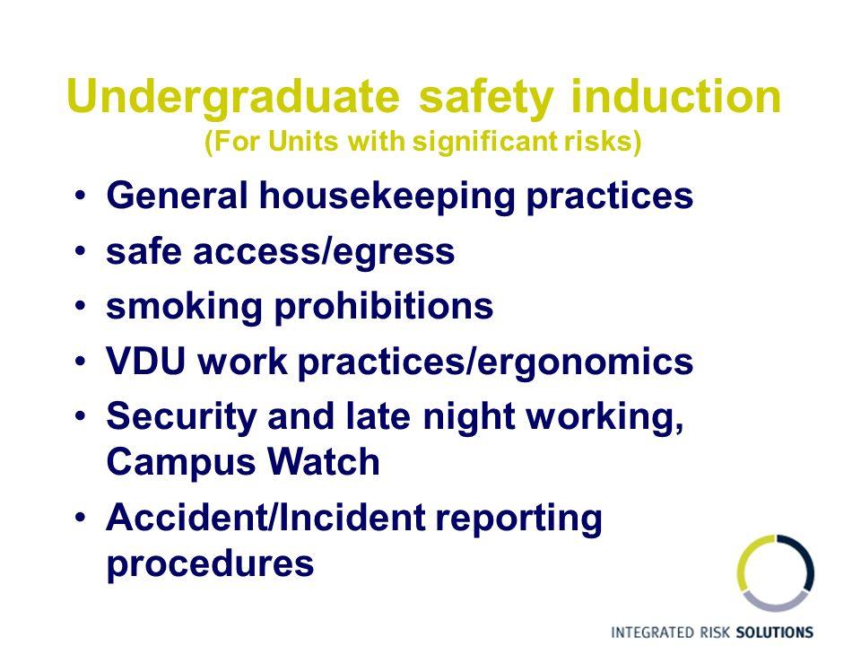 night work safety procedure