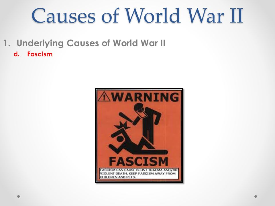 the causes of wwi World war i, also called first world war or great war, an international conflict that in 1914–18 embroiled most of the nations of europe along with russia, the.