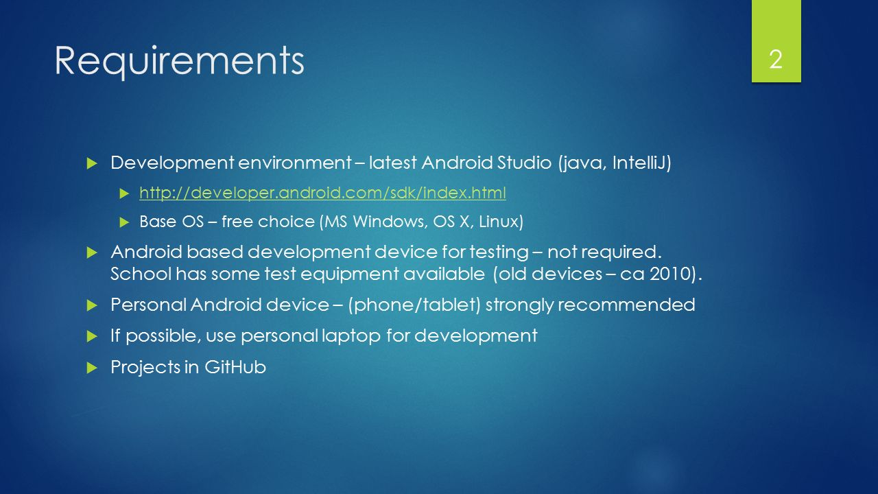 Mobile Software Development for Android - I397 IT COLLEGE