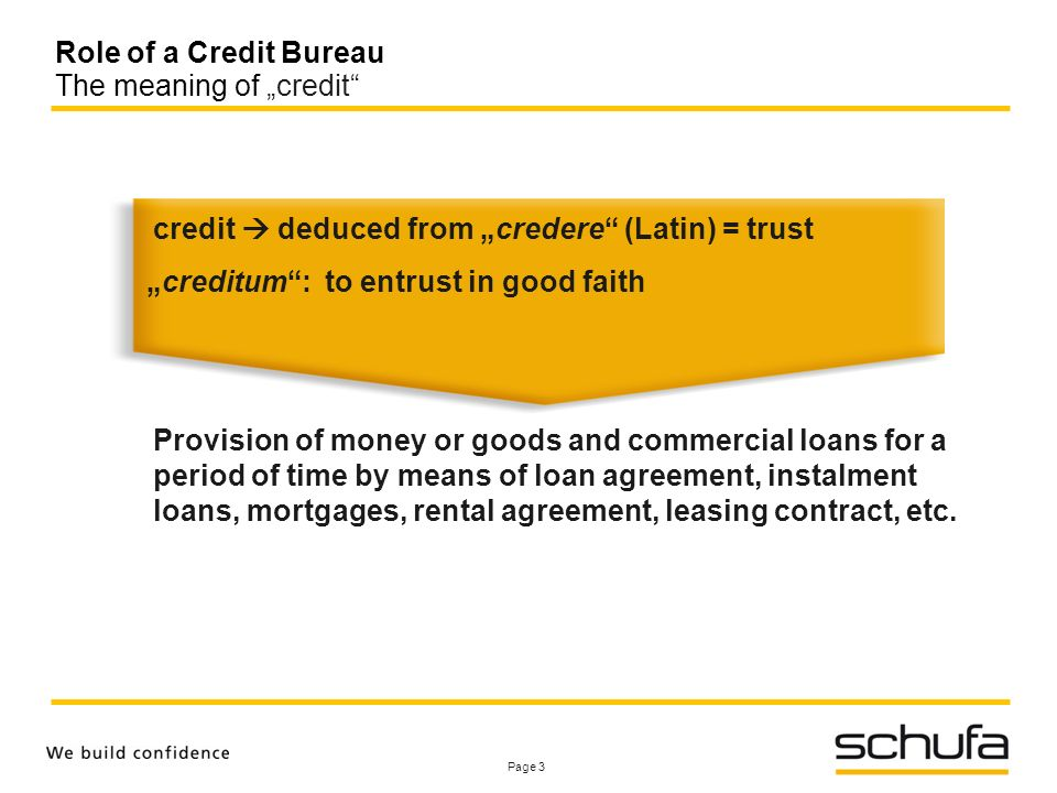Role Of Credit Bureaus And Registries Session 1 Asymmetries Of