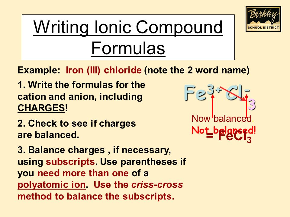 Ionic Bonding Anions And Cations Are Held Together By