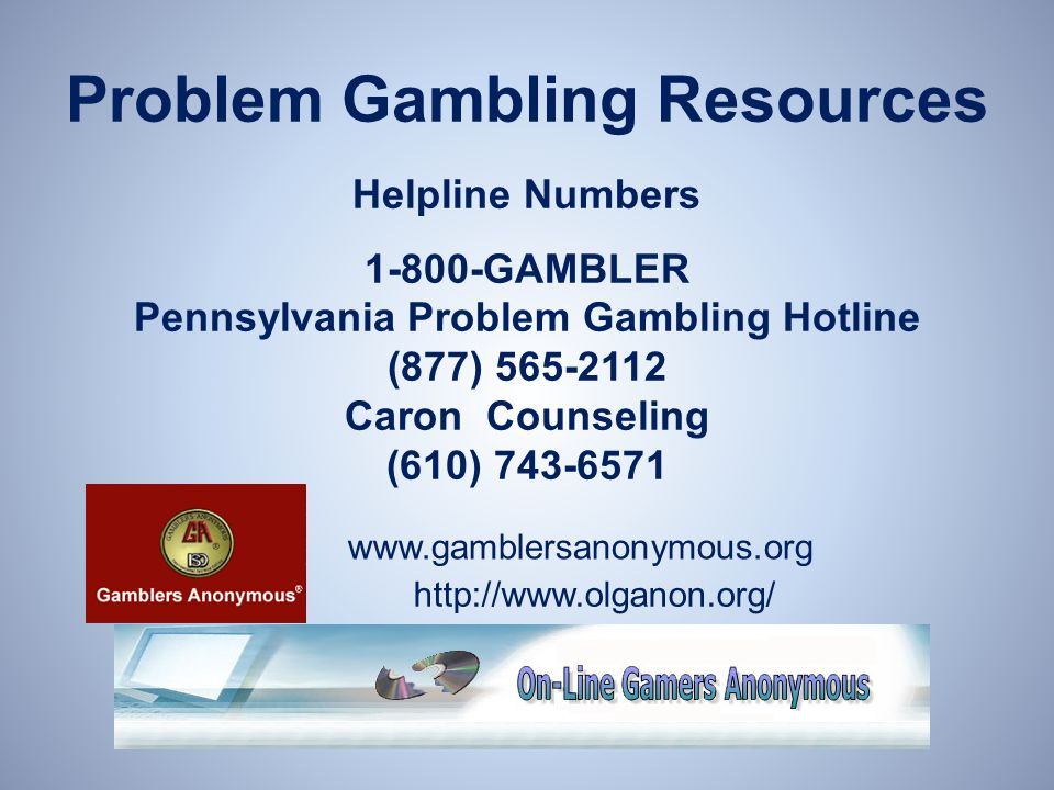 Gambling hotline pa cartable a roulette delsey