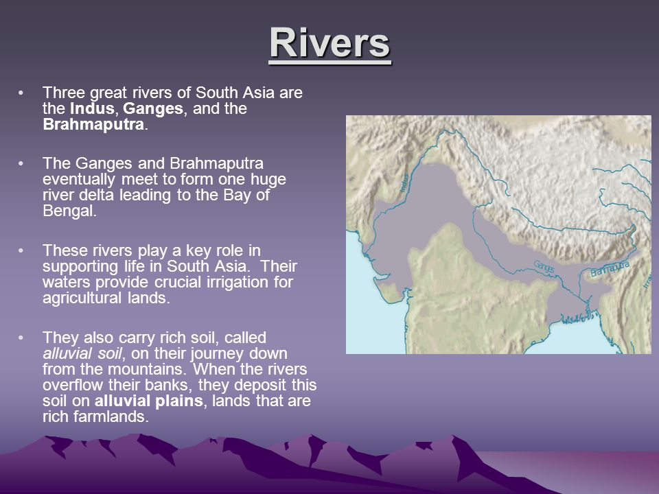 Good asian rivers of pakistan necessary