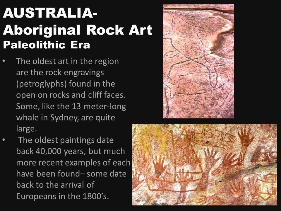 dating Rock art Australia