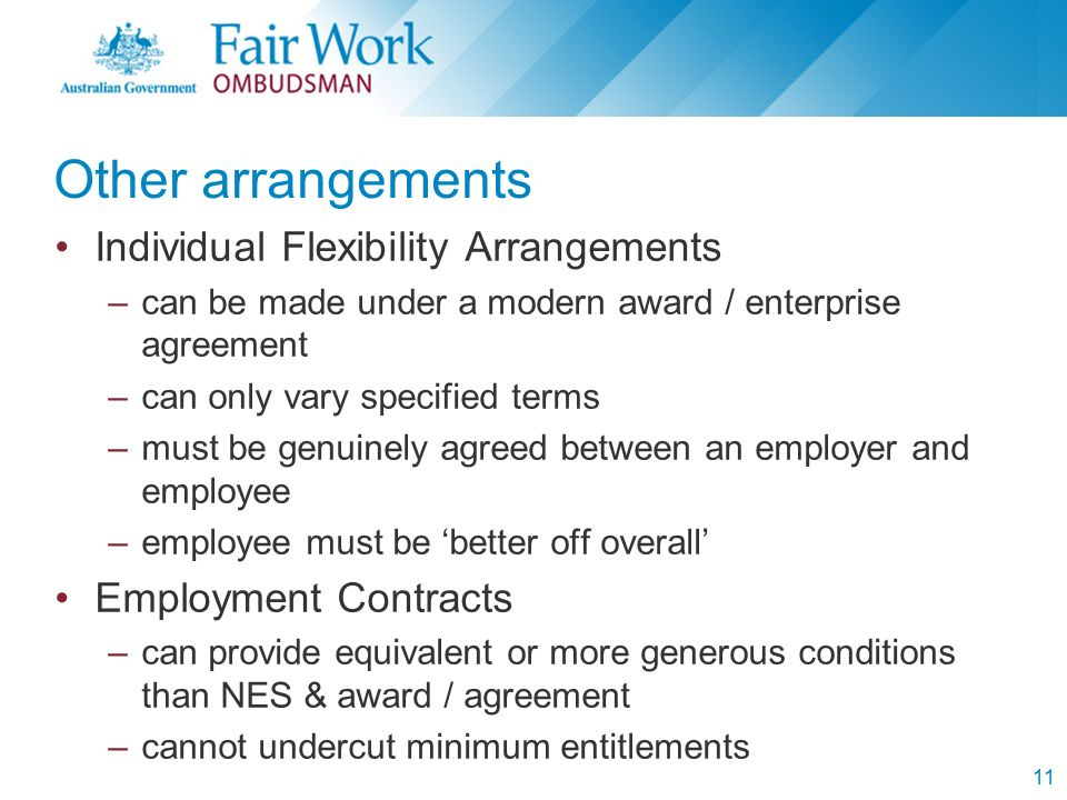 Rights Responsibilities Under The Fair Work Act 2009 Kingsford