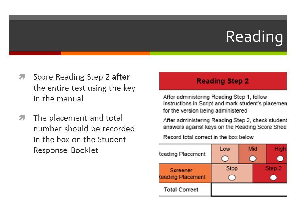WIDA MODEL: Grades 1-12 Measure of Developing English