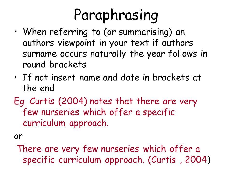 paraphrasing harvard style tool