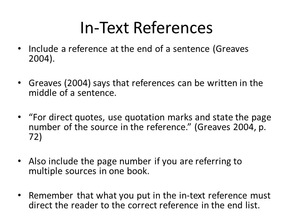 essay references list Writing references - oxford system this is a guide on how to write references for various documents oxford style intended for footnotes with complete bibliographic information (see citing references oxford ) and reference lists.