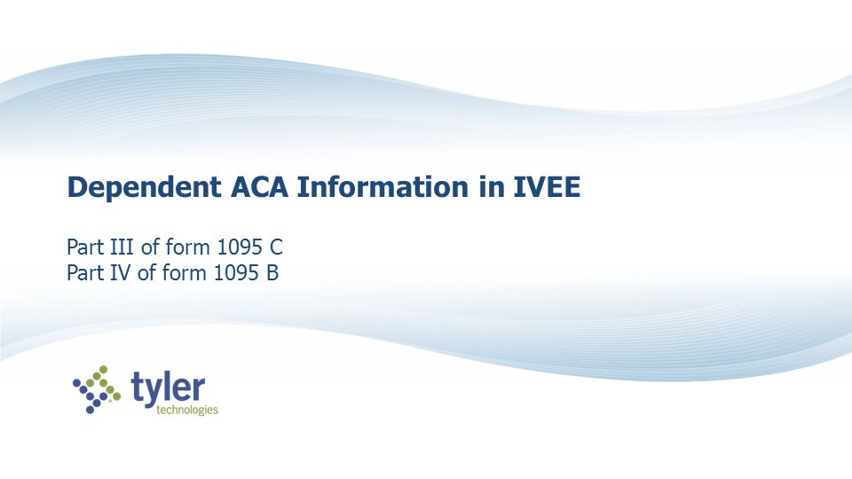ACA Reporting & IVEE Q3 Release  What needs to be reported? - ppt