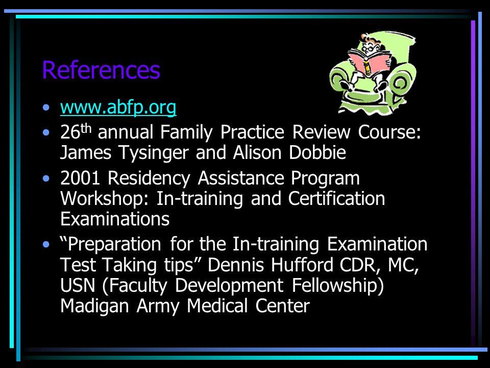 Preparing For The Abfm Certification Exam Lynda Barry Md Waco