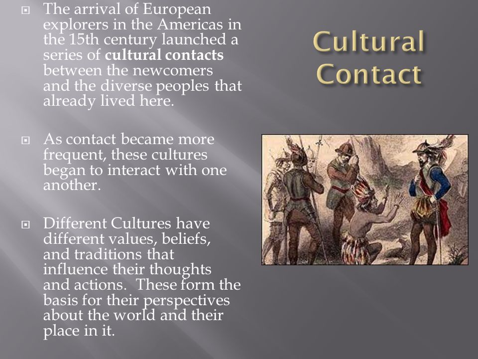 blending of cultures