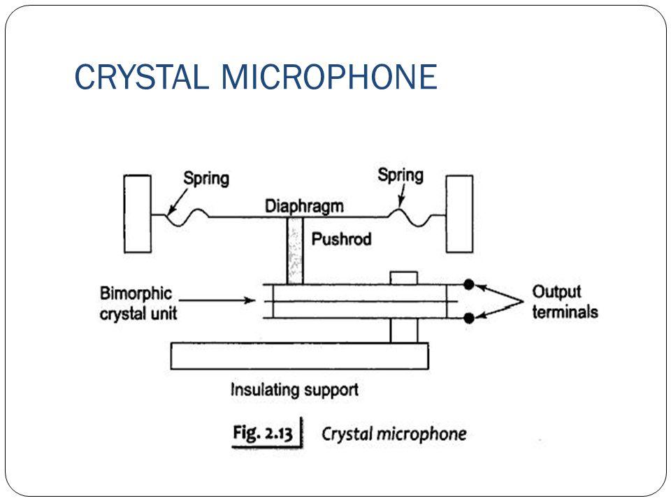 xtal microphone wiring diagram basic wiring diagram u2022 rh dev spokeapartments com