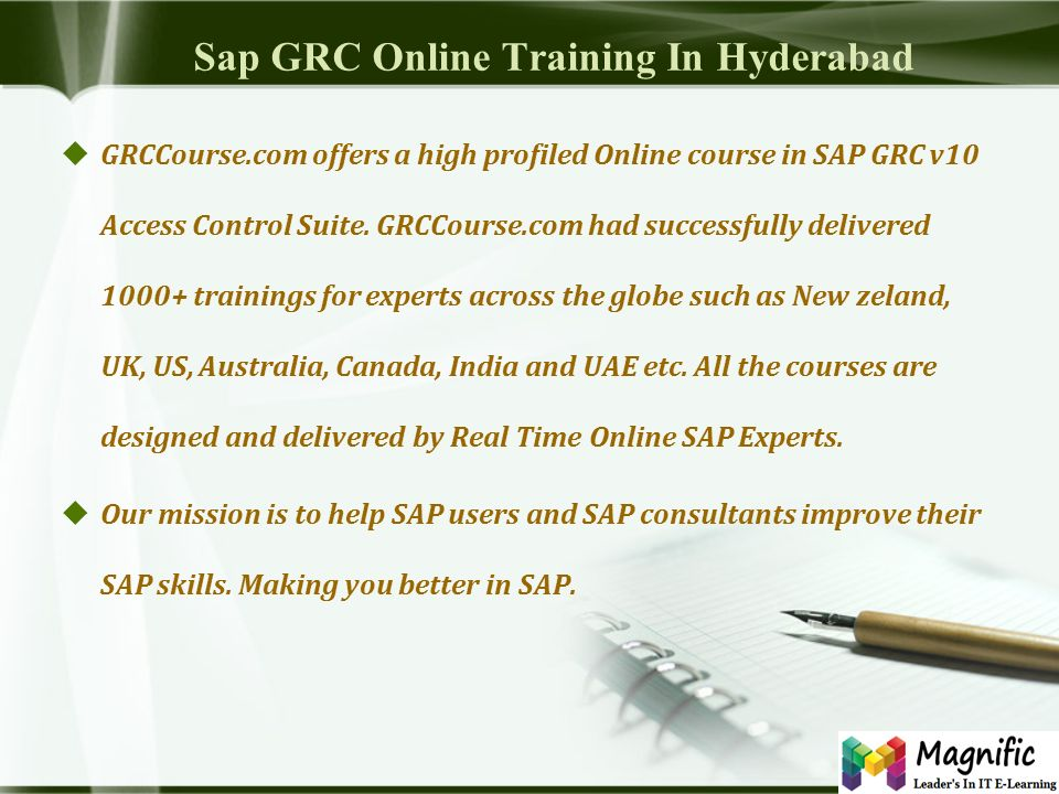 ONLINE KNOWLEDGE PRODUCT OF SAP GRC Online | classroom| Corporate