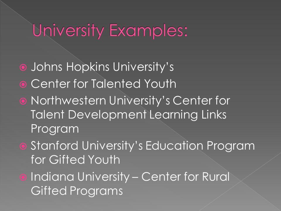 16  Johns Hopkins University's ...