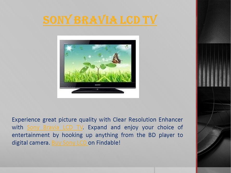 Sony India Electrical and Electronics Sony IndiaSony India offers a