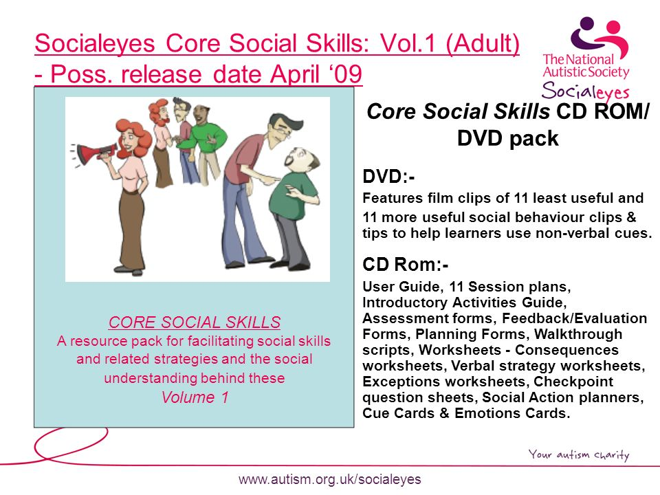 Socialeyes 'Exploring the social world with people on the autism ...