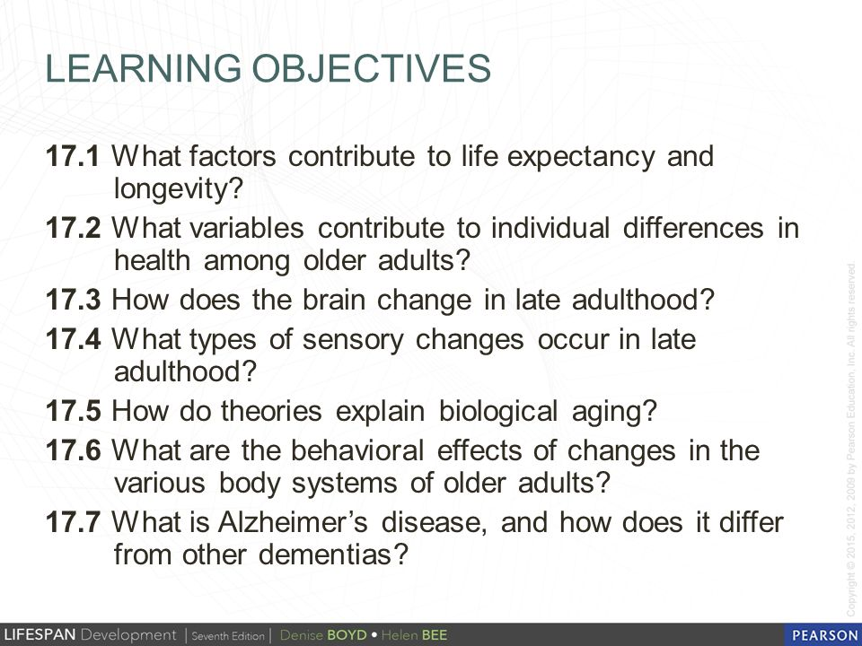 theory older adults for Learning